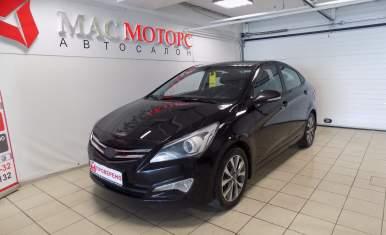 Hyundai Solaris Черный